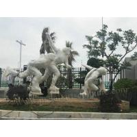China Mirror Surface Large Metal Wall Art Sculptures For Outdoor Road Decor wholesale