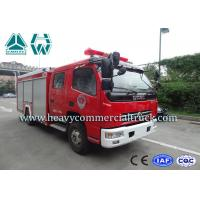 China 25 CBM 4 Tons Dongfeng High Speed Fire Fighting Truck  With Fire Pumps wholesale