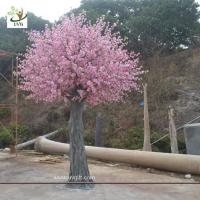 China UVG CHR140 china event supplier home decoration pink peach blossom fake trees for weddings wholesale