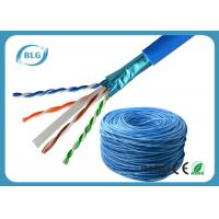 China Communication Cat6 Lan Cable Network Wire Shielded Solid Bare Copper For Computer wholesale