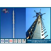 Buy cheap 4G Polygonal Steel Tubular Telecommunication Towers Hot Roll Steel Q235 from wholesalers