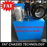 China 4000W Hydraulic Hose Crimping Machine For Air Suspension Air Shock Absorber wholesale