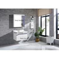 China Modern Washbasins PVC Bathroom Vanity With Metal DTC Runners And Hinges wholesale