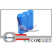 China 10200mAh 3.7V  Lithium Battery Packs , 18650 rechargeable battery wholesale