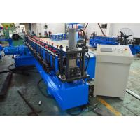 China Gearbox Driven Strut Channel Roll Forming Machine With Servo Feeding Device wholesale