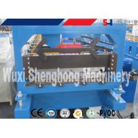 China Roof Tile Production Line / Roof Tile Roll Forming Machine with auto cutting on sale