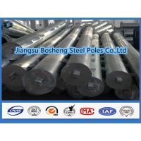 China Galvanized square tubing Overhead Line Electrical Power Pole custmised Color wholesale