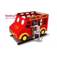 China Toddler HDPE  Playground Bus Style Engineering Plastics High Strength Long Life Span wholesale