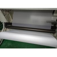China White Translucent Matte PET Film Surface Uniformity / Low Sub Degree For Printing wholesale
