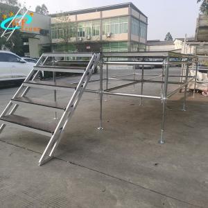 China Celebration Aluminum Stage Truss Adjustable Base 0.6M Height wholesale
