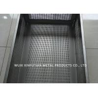 China Tank Laser Cutting Holes Stainless Steel Sheet Metal Finishes For Filtering Water wholesale