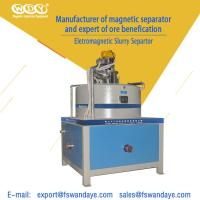 China Automatic Electro - Magnetic Separator Machine Field Strength 3T High Speed Kaolin Ceramic Slurry wholesale