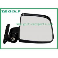 China Durable Golf Cart Side Mirrors HD Vision / Golf Cart Accessories Vibration Resistant wholesale