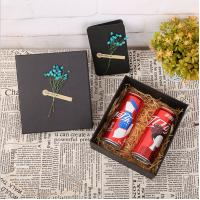 China Recycled Kraft Cardboard Gift Boxes , Handmade Paperboard Gift Boxes wholesale