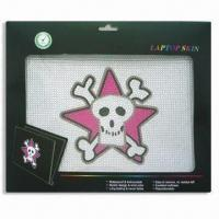 China Laptop Skin, Non-stick Dirt, Available in 14-design, Measures 12.2 x 8.3cm wholesale