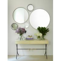 China 6MM clear round make up  mirror without frame wholesale