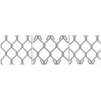 hot dipped galvanized cyclone mesh / chain link fences