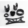 China Custom Black Anodized Aluminium CNC Machining small turned parts wholesale