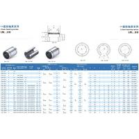 China Metric Sealed LM 25 UU Linear Motion Bearing C2 With Chrome Steel , Low Noise on sale