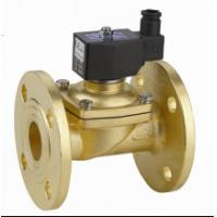 China Two Way Flange Electric Solenoid Water Valve , Small Solenoid Valves For Water wholesale