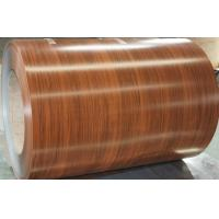 Buy cheap Color Coated Pre Painted Galvalume or Galvanized Coil508MM / 610mm Coil Inner Diameter wooden color below 1.2mm thickne from wholesalers