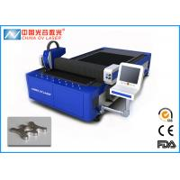 China Fiber 1000W Thin Copper Sheet Metal Laser Cutting Machine with High Speed on sale
