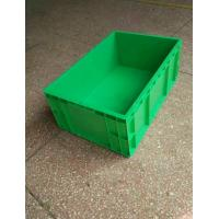 Buy cheap Virgin Polyethylene Green Stackable Plastic Storage Containers 600*400*230mm from wholesalers