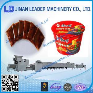 China Automatic Mini instant noodles manufacturing machine wholesale