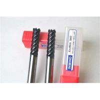 China 6 Flue / 8 Flute End Mill Drill Bits , Cutting Tools For Milling Machine Tool Bits wholesale