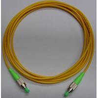 China FC APC Fiber Optic Patch Cord with LSZH cable wholesale