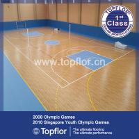 China Indoor Multi-purpose Roll Vinyl PVC Sports Flooring for School Gym,Basketball court wholesale