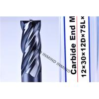 China AlTiN Coating High Speed Steel End Mill 16mm / 18mm / 20mm 2Flute 4 Flute M42 Co8% wholesale