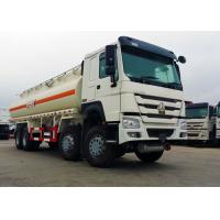 China 25 CBM 8x4 Oil Tanker Truck Stainless Steel Material 371HP Diesel Engine wholesale