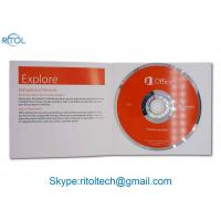 Buy cheap Genuine Microsoft Office 2016 Versions Product Key Optional Language With DVD from wholesalers