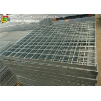 China Q235 Hot Dipped Galvanized Steel Grating Stair Treads Trench Cover / Drain wholesale