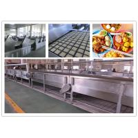 China CE ISO SGS Instant Noodle Making Machine , Automatic Noodle Machine Stainless Steel wholesale