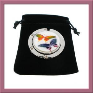 FASHION purse hanger/handbag holder/folding hanger