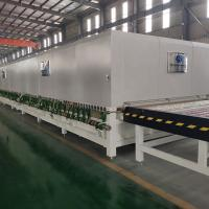 China Double Heating Chamber Glass Toughening machine  Tempered Glass Making machine Tempering Furnace wholesale