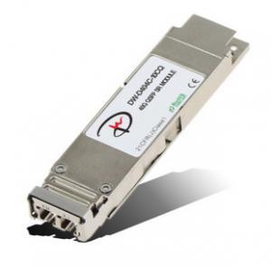 China DONGWE QSFP DW-D404C-10CQ 40G QSFP+ LR4,10 km on a standard sm fiber wholesale