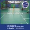 Quality indoor/outdoor interlocking badminton court sports floor wholesale