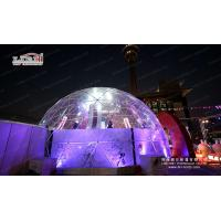 China 3-60M diameter geodesic dome tent, High quality PVC geodesic dome tent, Clear large Glamping hotel geodesic dome tent wholesale