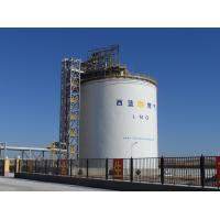 Quality Large Vertical LIN / LAr / Liquid Nitrogen Storage Tank 200M3-50000M3 for sale