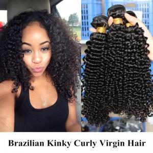 China Soft And Silky 100 Peruvian Human Hair / Loose Wave  Hair Bundles No Nits wholesale