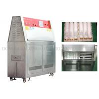 China Simulated Climate UV Aging Test Chamber Electric Driven Humidity Range 10% - 95% wholesale