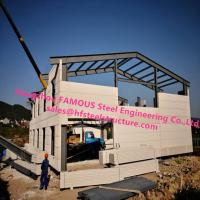 Buy cheap Prefab House Light Steel Villa Prefab Metal Buildings With Welded Frame from wholesalers