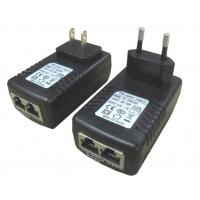 China Over Voltage Protection 12W 12V 1A AU Poe Power Adapter Poe Injector UL / CE wholesale