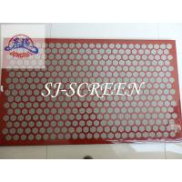 China 1250 X 635mm Size Brandt Shaker Screens With High Strength Steel Frame wholesale