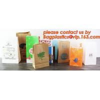 China Customize Translucent Window, Brown Greaseproof Kraft Paper Bag, Special Opp Window Bag, window bags, paper window bags wholesale