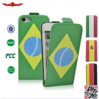 Quality New Hot Selling 2014 Brazil Worldcup PU Flip Leather Cover Case For Huawei Ascend P7 for sale