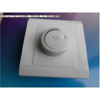 China White Indoor Rotary Dimmer Light Switch 120 Degrees For Exhaust Fan wholesale